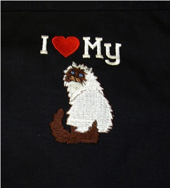 Himalayan Cat Hand Towel