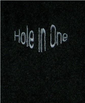 Hole in One Golf Towel
