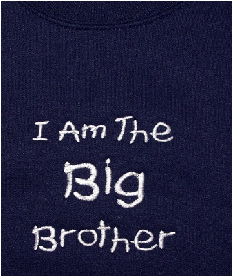 I Am The Big Brother Sweatshirt