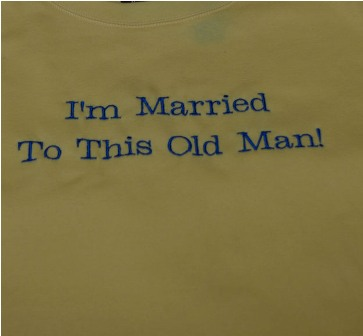 I'm Married To This Old Man Tee