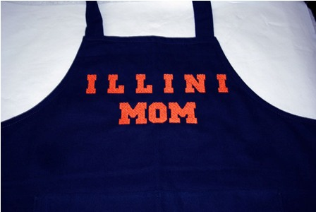 Illini Mom Apron