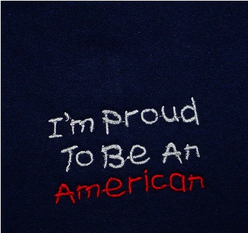I'm Proud To Be An American Sweatshirt