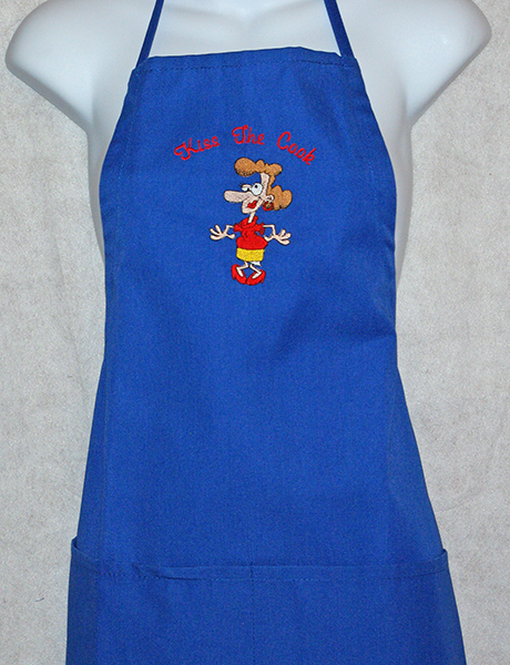 Kiss The Female Cook Apron