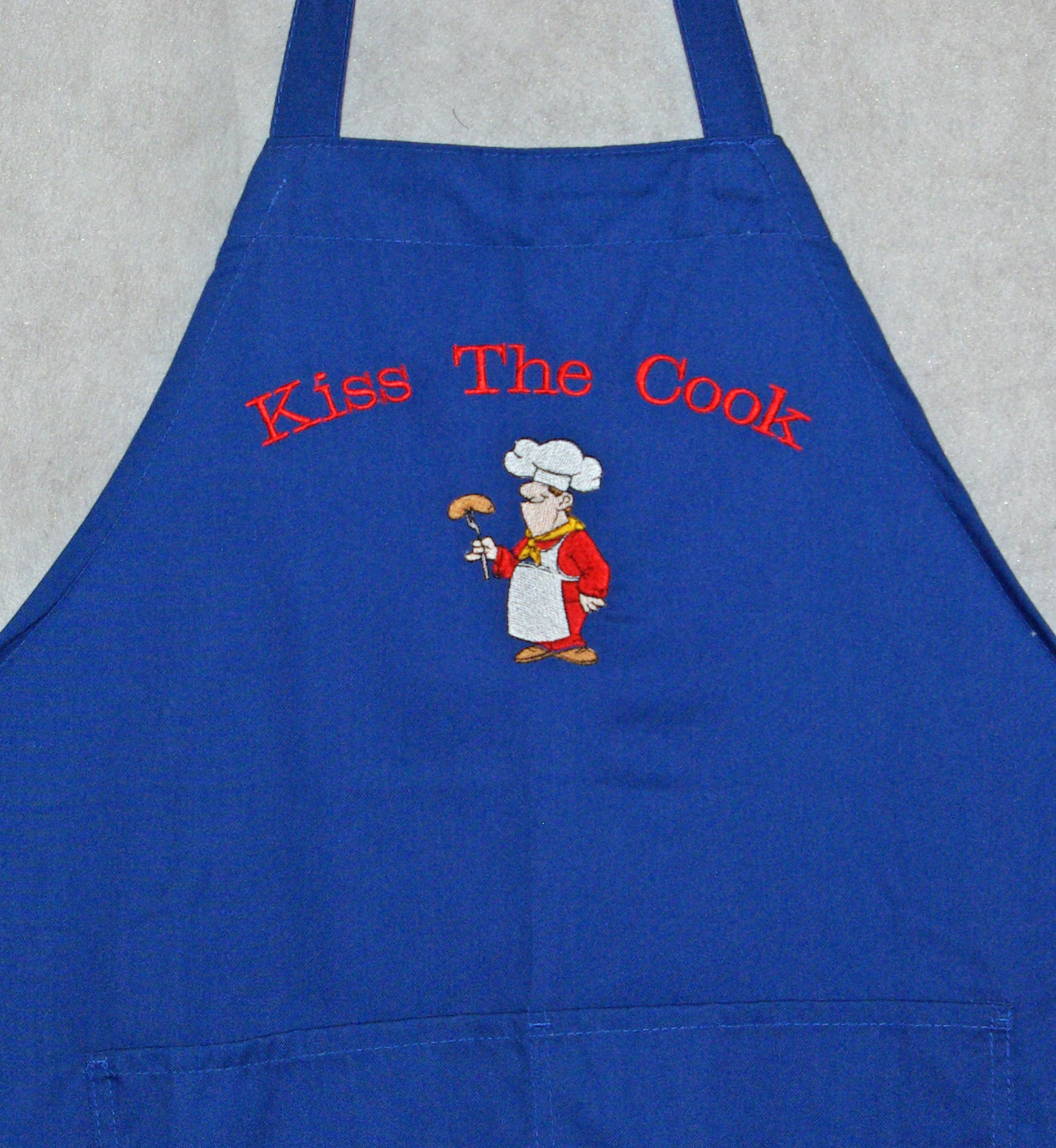 Kiss The Male Cook Apron