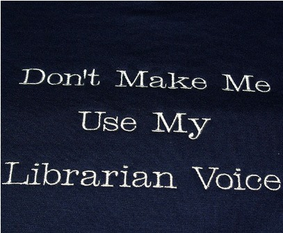 Don't Make Me Use My Librarian Voice Tee