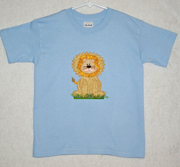 Appliqued Lion Shirt