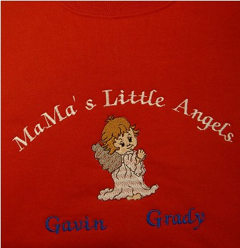 MaMa's Little Angels Sweatshirt