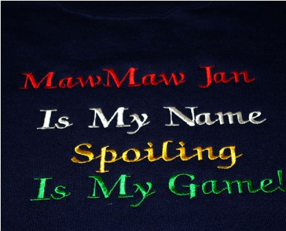 MawMaw Is My Name tee