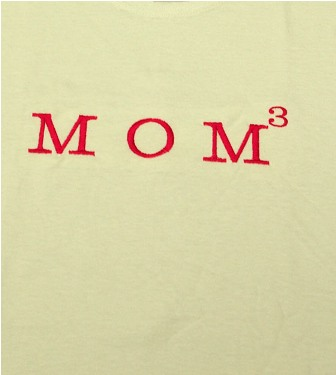 Mom to the Third Power Tee