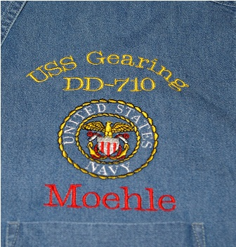 Navy Unit Denim Shirt
