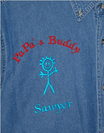PaPa's Buddy Denim Shirt