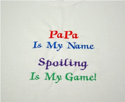 PaPa Is My Name Tee