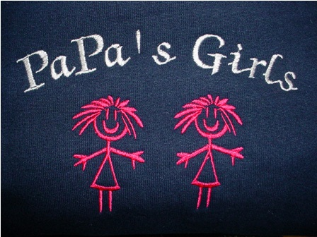 PaPa's Girls Sweatshirt