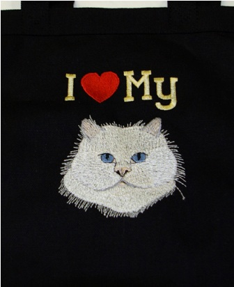 Persian Cat Hand Towel