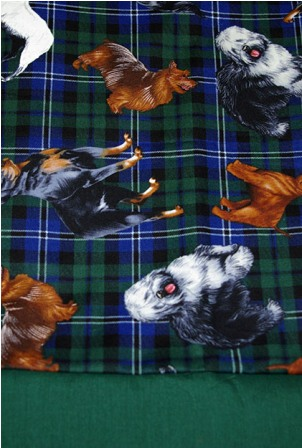 Plaid Dogs Pillowcase