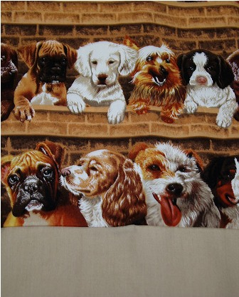 Puppies on Parade Pillowcase