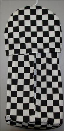 Racing Flags Diaper Stacker
