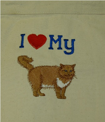 Ragdoll Cat Hand Towel