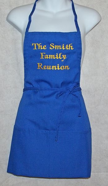 Familly Reunion Personalized Apron