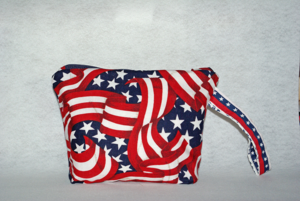 Patriotic Cosmetic Bag