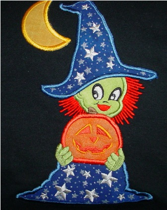 Witch with Moon Sweatshirt