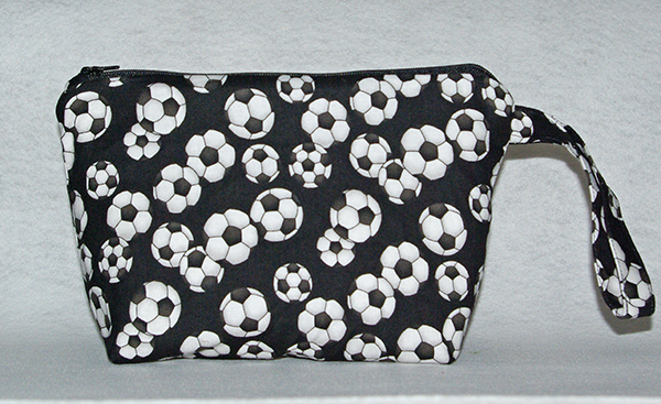 Soccer Cosmetic Bag