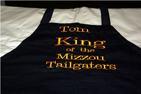 King of the Mizzou Tailgaters Personalized Apron