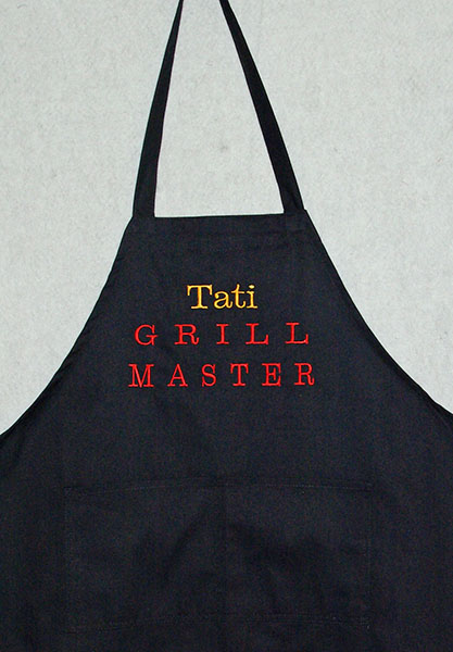 Grill Master Pesonalized Apron