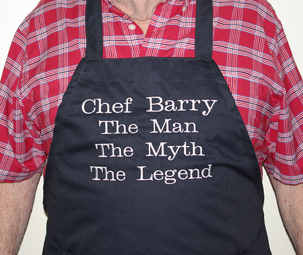 The Man The Myth The Legend Personalized Apron