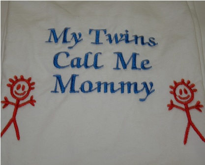 My Twin Boys Calls Me Mommy Sweatshirt