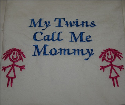 My Twin Girls Calls Me Mommy Sweatshirt