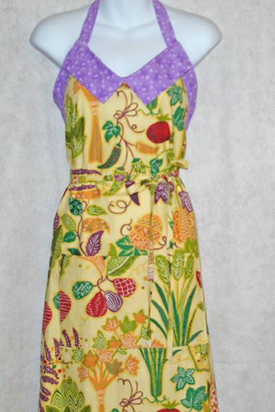 Yellow Vegie Apron
