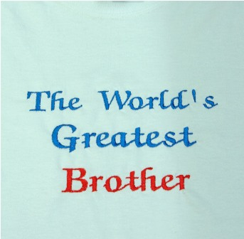 The World's Greatest  Brother tee