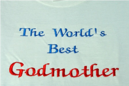 The World's Best Godmother Tee