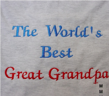 The World's Best Great Grandpa Sweatshirt