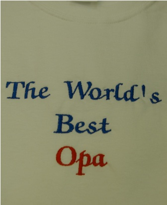 The World's Best Opa Tee