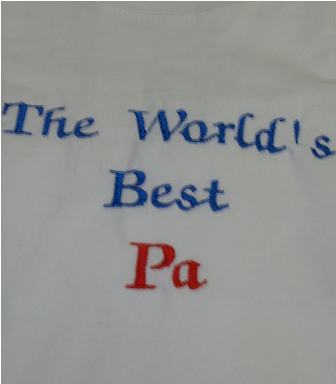 The World's Best Pa Tee