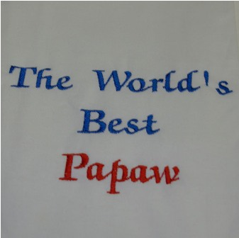 The World's Best Papaw Tee