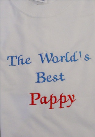 The World's Best Pappy tee