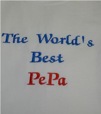 The World's Best PePa Tee