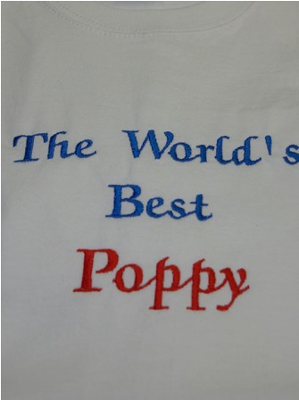 The World's Best Poppy Tee