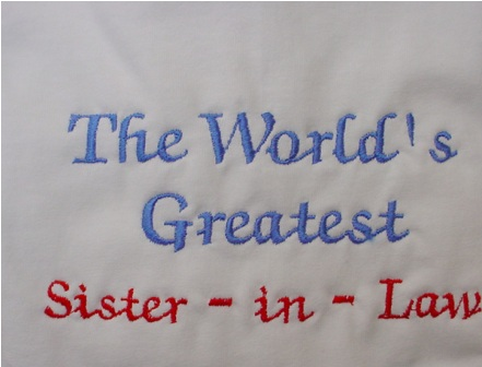 The World's Greatest Sister-in-Law Tee